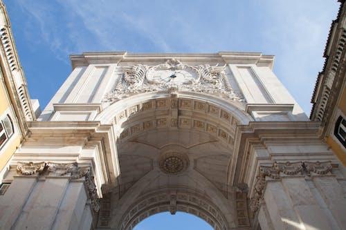 Ilmainen kuvapankkikuva tunnisteilla arkkitehtuuri, augusta kadun kaari, Historiallinen rakennus, kaari