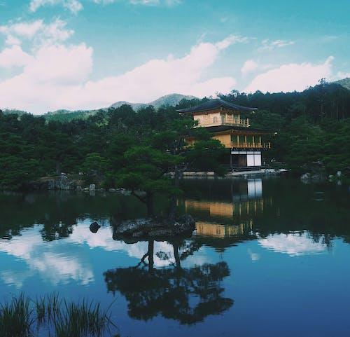 Δωρεάν στοκ φωτογραφιών με kinkaku-ji, kyoto, αντανάκλαση, βουδιστικός ναός