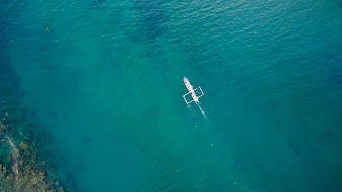 Безкоштовне стокове фото на тему «вода, Водний транспорт, з висоти польоту, море»