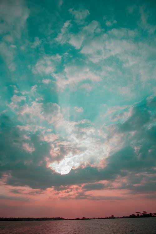 Foto d'estoc gratuïta de blau, Canon, capvespre, cel
