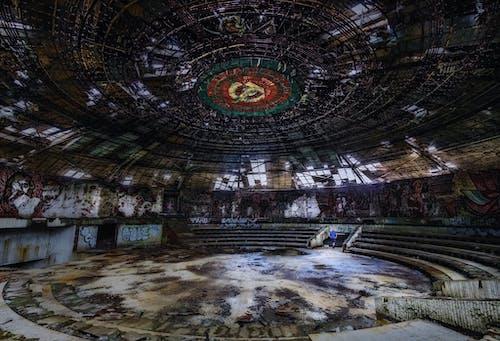 Free stock photo of abandoned, bulgaria, Buzludzha