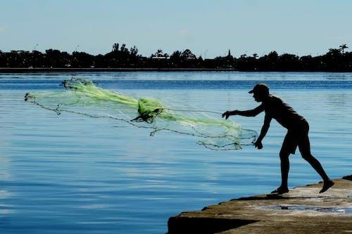 Kostenloses Stock Foto zu angeln, breites netz, cienfuegos, cienfuegos kuba