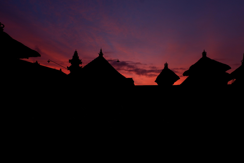 Free stock photo of bali, sunset, temple