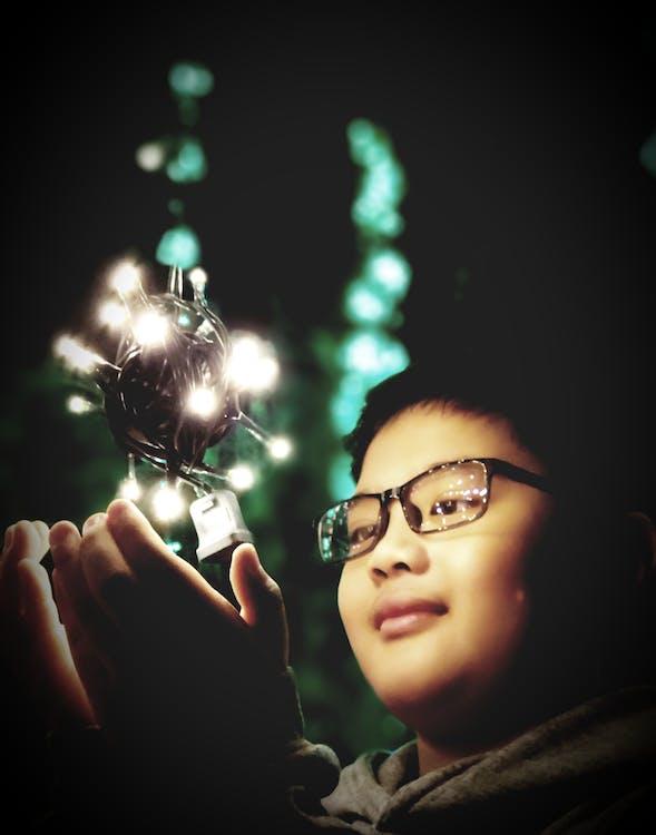 กลางคืน, คริสต์มาส, ตกแต่งคริสต์มาส