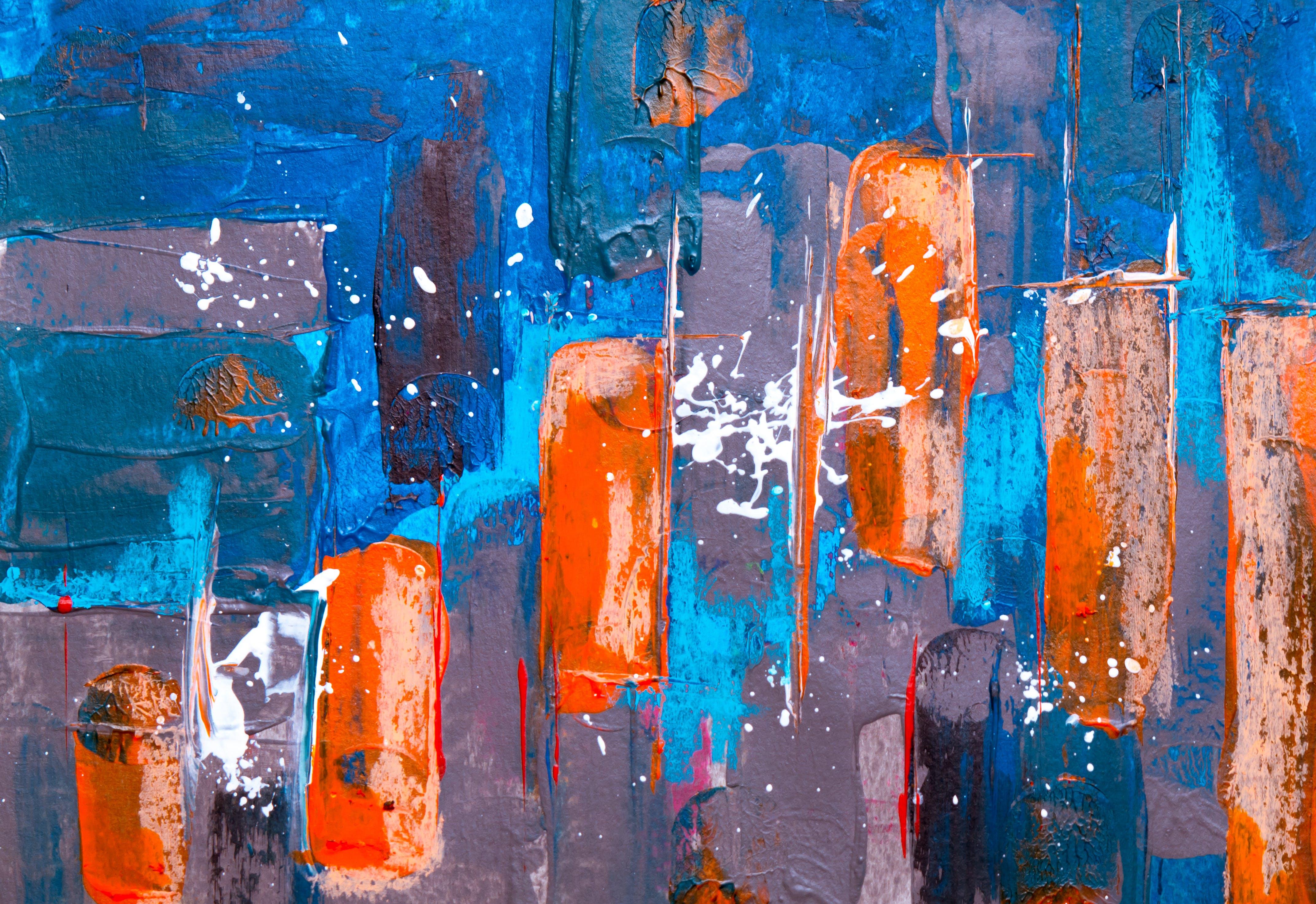 artistik, boya, boyama, branda içeren Ücretsiz stok fotoğraf