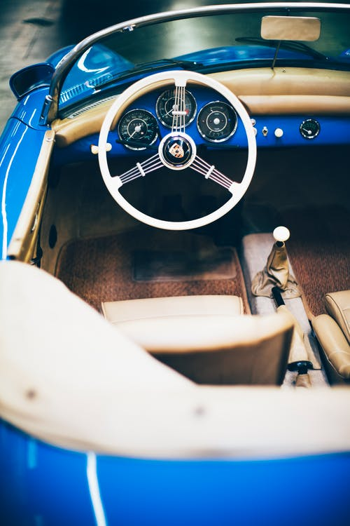 Free stock photo of 356, antique, auto, automobile
