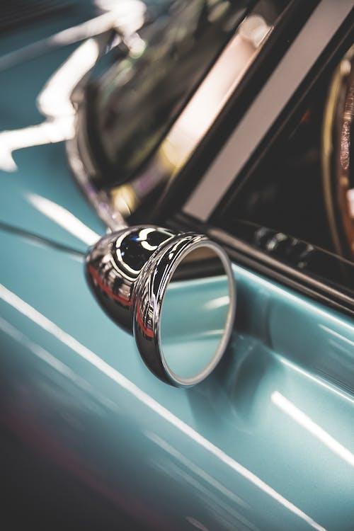 antikk, bil, chrome
