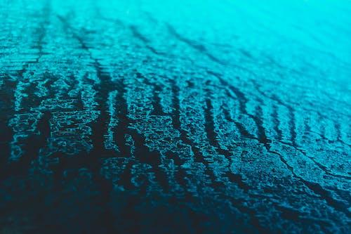 Free stock photo of blue, car window, cold, cracks