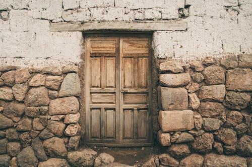 Gratis lagerfoto af døre, indgang, sten, væg