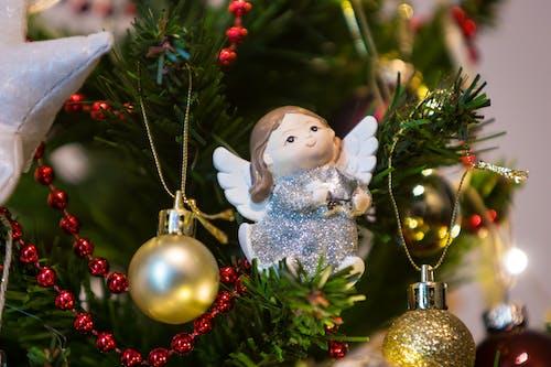 천사, 크리스마스, 크리스마스 방울, 크리스마스 장식의 무료 스톡 사진