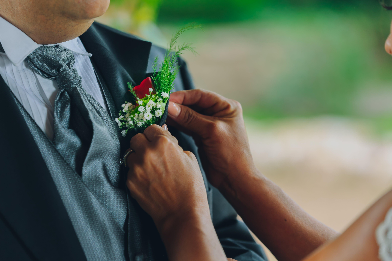 Foto d'estoc gratuïta de acabats de casar, adult, amor, boda