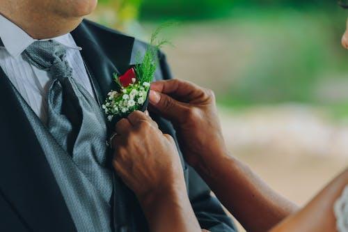 一對, 人, 儀式, 剛剛結婚 的 免費圖庫相片