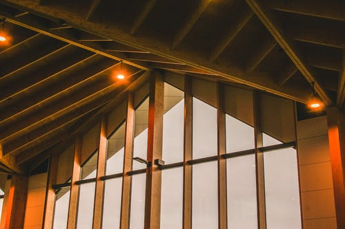 bina, mimari, tavan, yapı içeren Ücretsiz stok fotoğraf