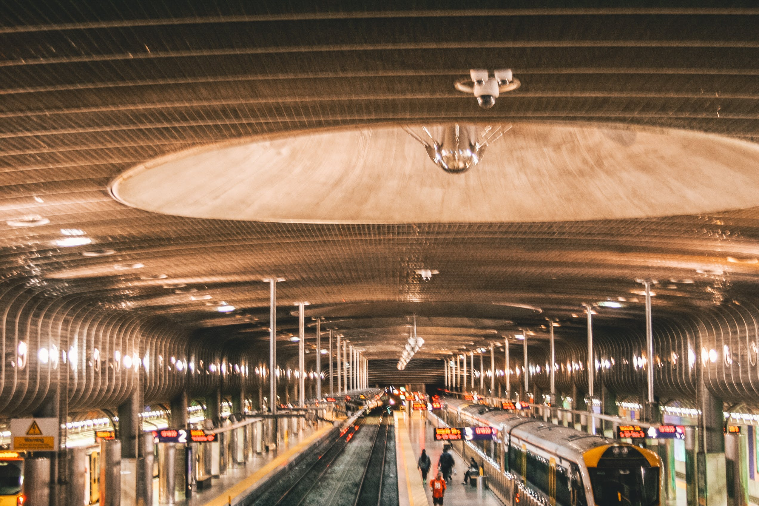 Free stock photo of train station