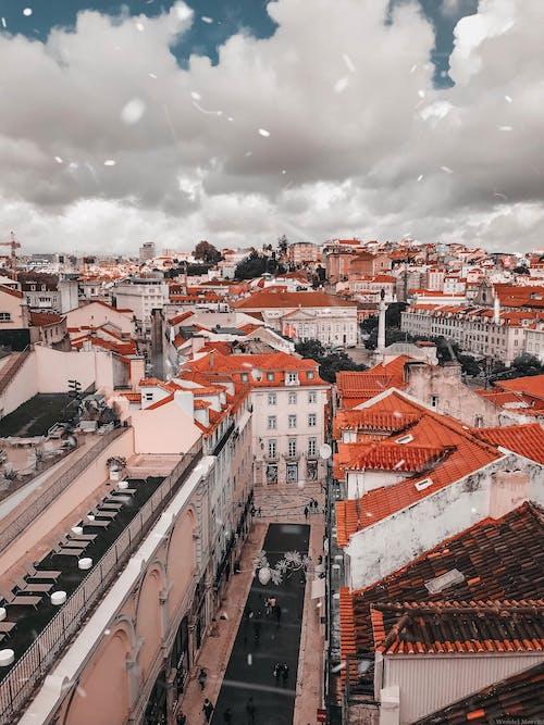 Gratis stockfoto met architectuur, attractie, dak, daken
