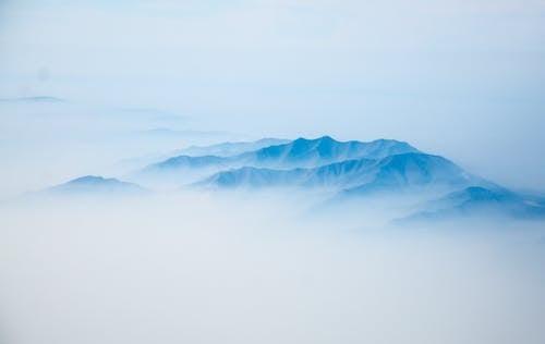 Imagine de stoc gratuită din ceață, cețos, de deasupra, fotografie din aer