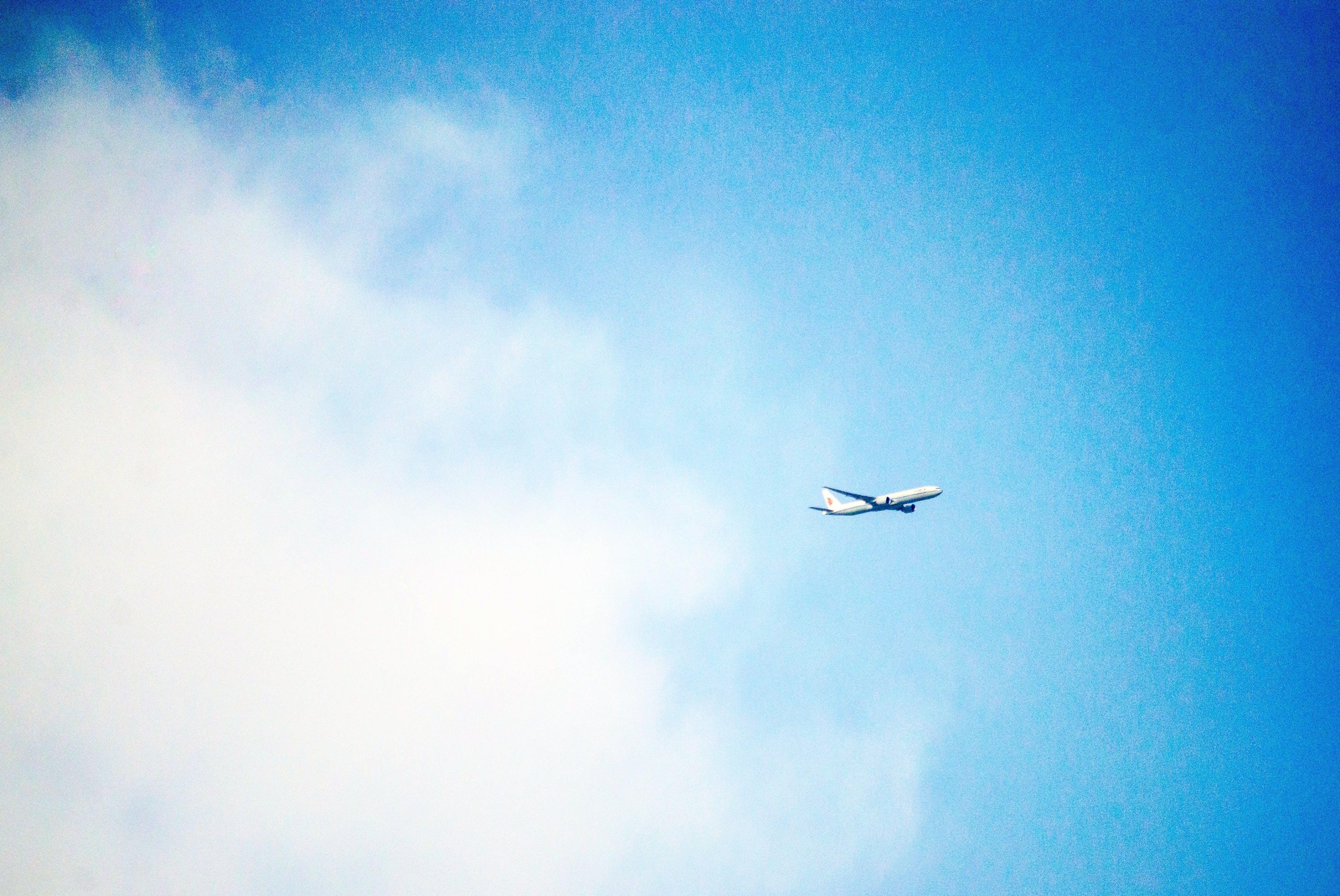 Ingyenes stockfotó ég, felhő, kék ég témában