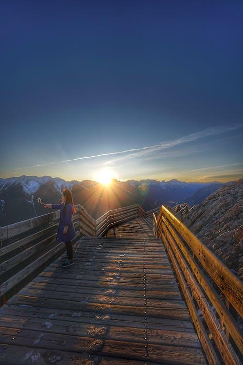 Kostnadsfri bild av äventyr, bergen, gryning, idyllisk