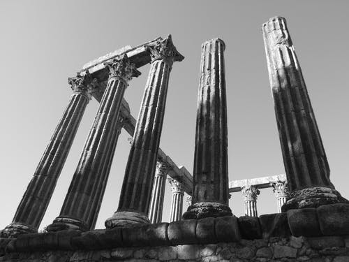 Free stock photo of Evora, roman temple