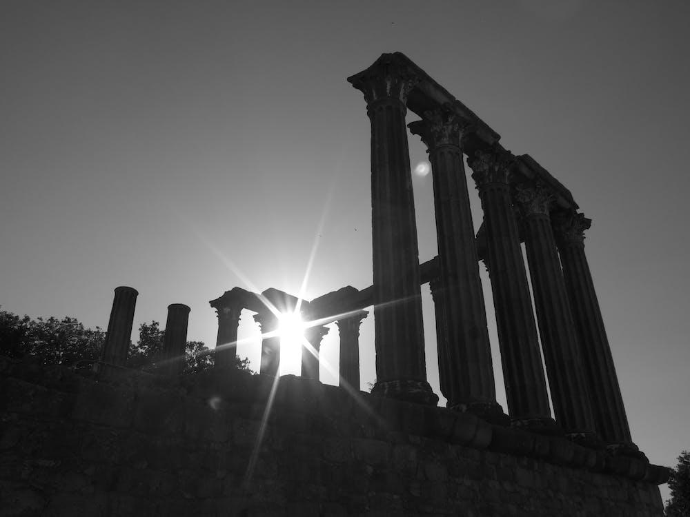 evora, római templom