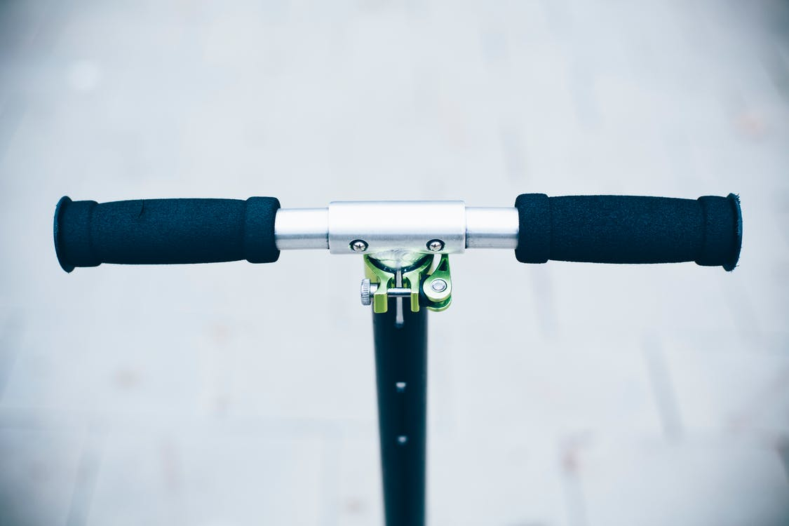 Free stock photo of close-up, handlebar, scooter