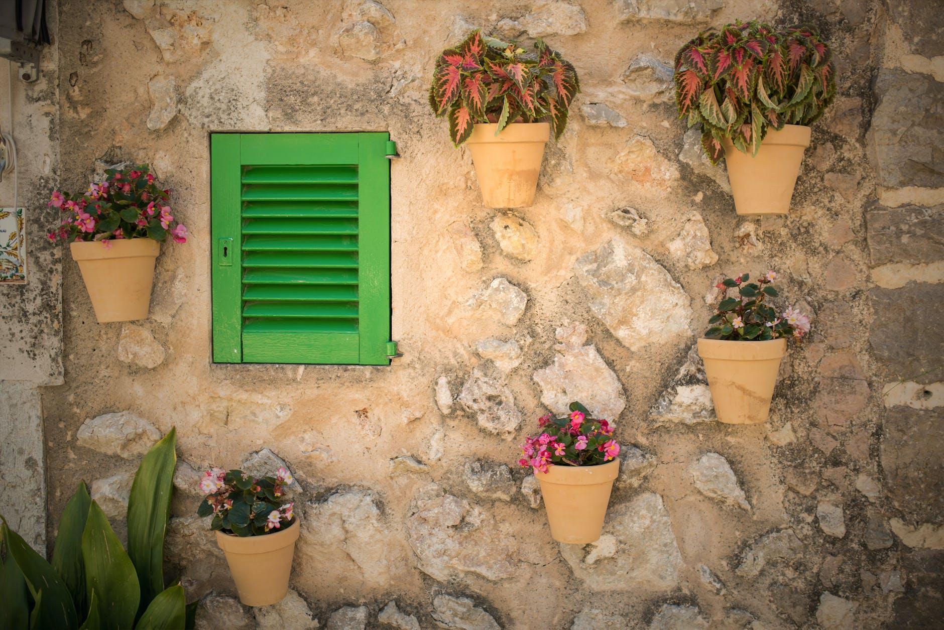Pot On A Wall | 11 Creative Vertical Garden Ideas For A Unique Backyard