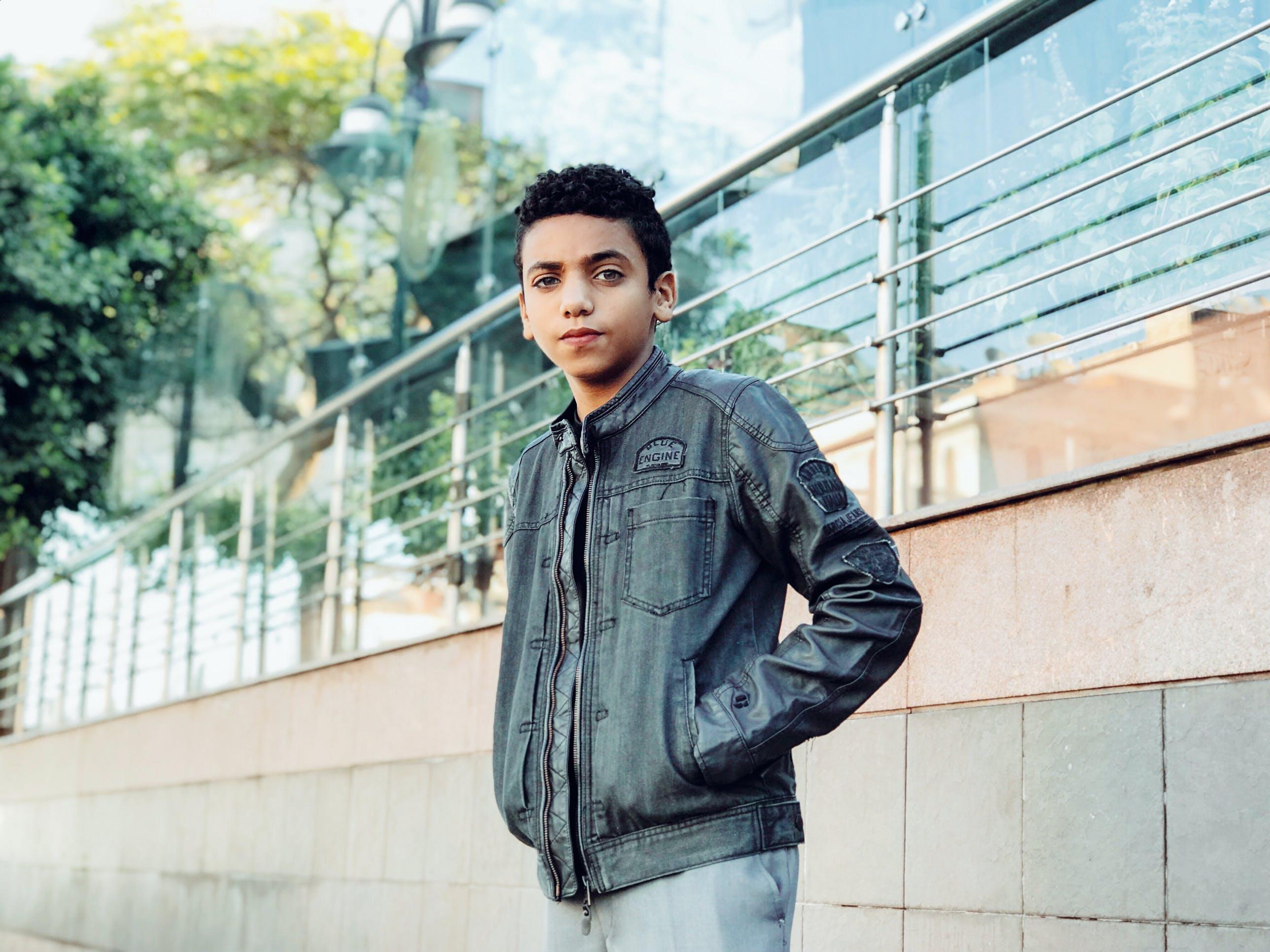 Photo of Boy Wearing Jacket