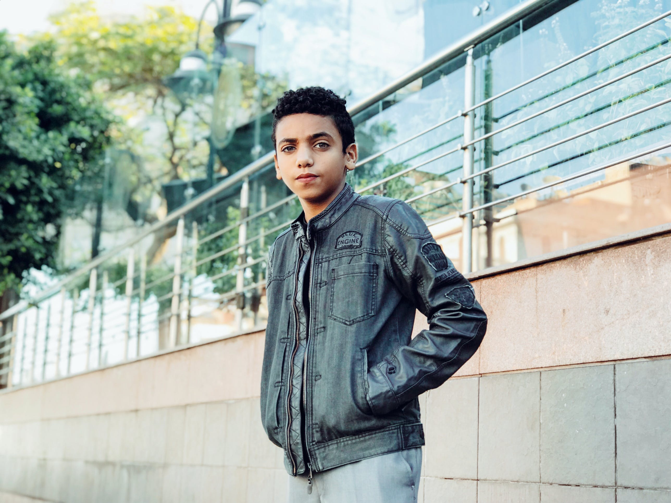 Photo of Boy Wearing Jacket