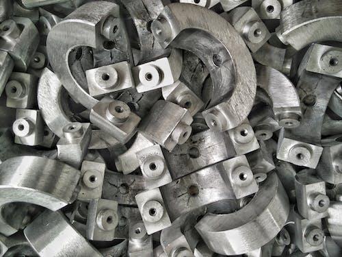 Foto stok gratis baja, disikat, kekacauan, pabrik