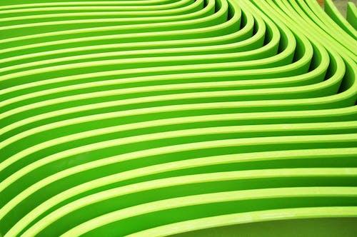 Foto stok gratis hijau, kayu lapis, lengkung, pola geometris