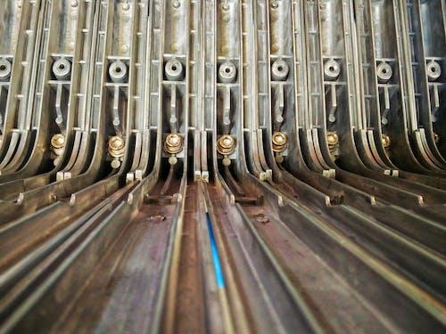 Foto stok gratis baja, industri, pembuatan, rel