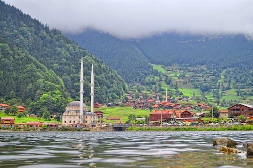 Бесплатное стоковое фото с landcape, мечеть, природа