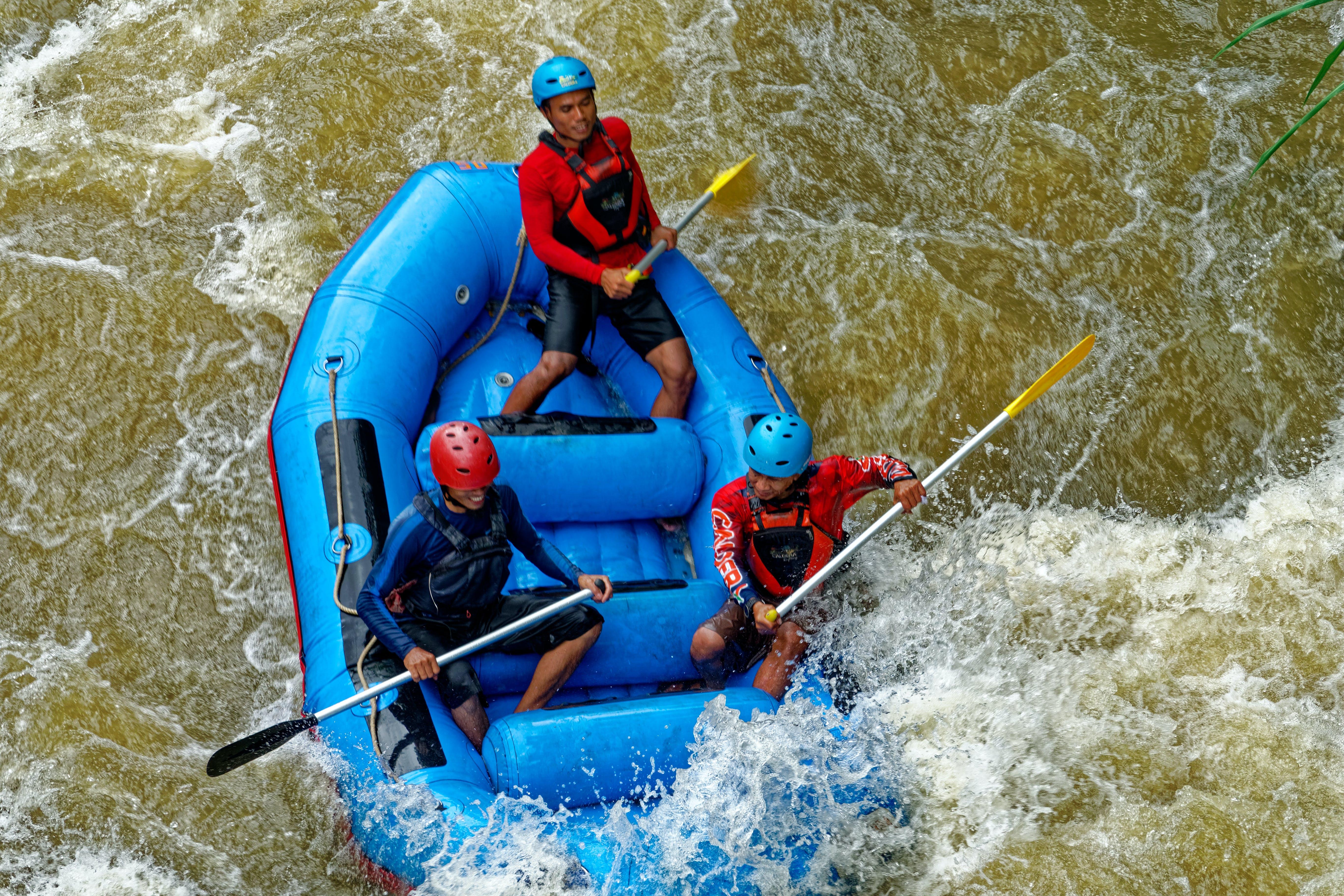 Foto d'estoc gratuïta de acció, aigua, aventura, barca