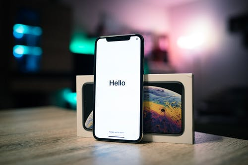 Foto d'estoc gratuïta de Apple, Hola, iphone xs, poma
