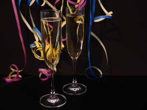 Photos gratuites de célébrer, mousseux, nouvel an, sylvestre