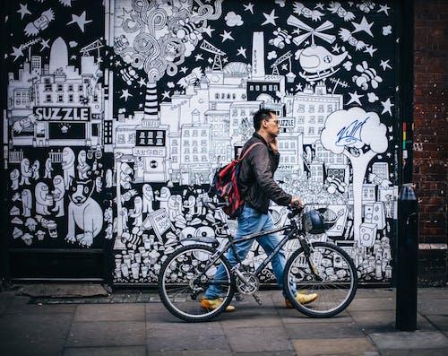 Foto profissional grátis de adulto, andando, arte, arte de rua