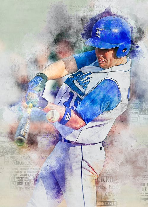 Free stock photo of athlete, baseball, male, man