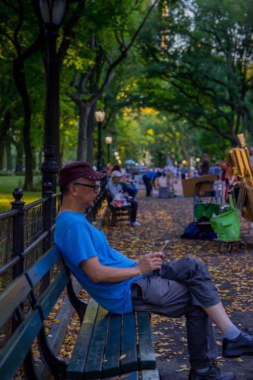 Gratis lagerfoto af central park, ensom