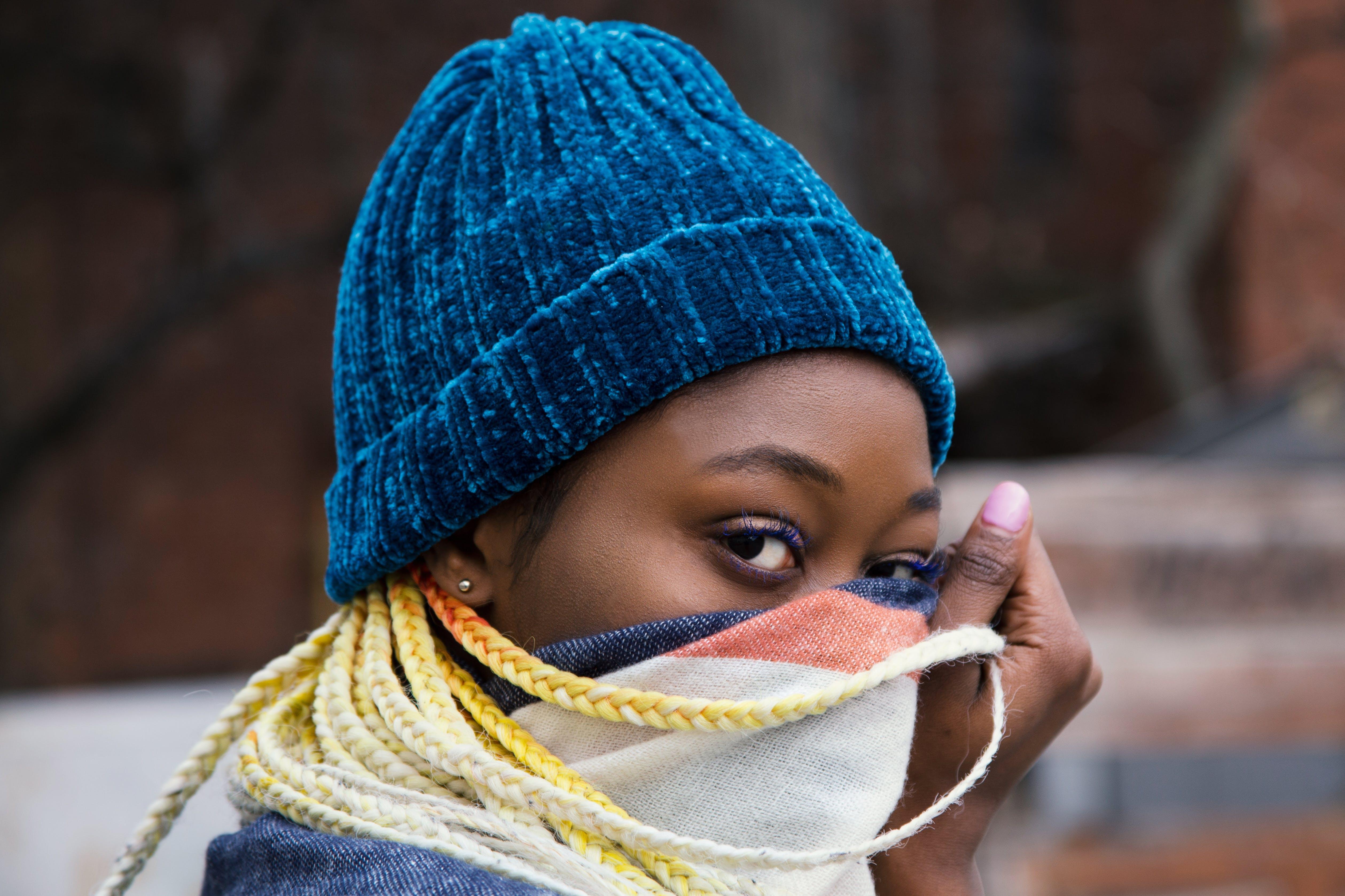 Kostenloses Stock Foto zu auge, farbige frau, fashion, frau