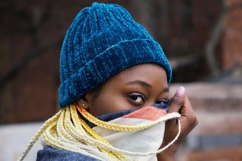 Ingyenes stockfotó copf, divat, fátyol, fekete nő témában