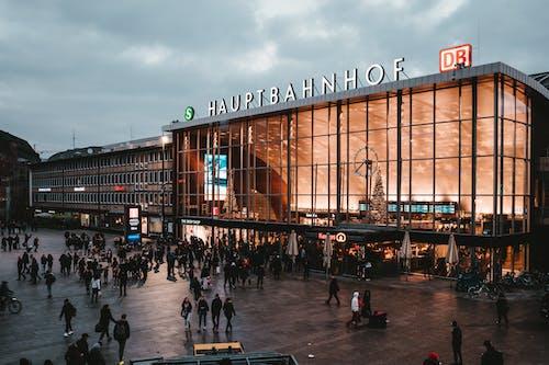 Kostenloses Stock Foto zu architektur, deutschland, hauptbahnhof, hauptstation