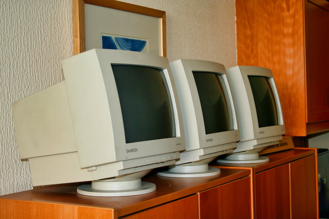 Free stock photo of apple, monitor, monitors
