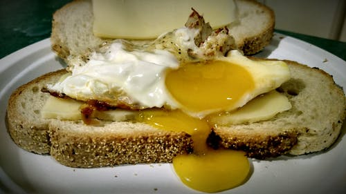 Gratis lagerfoto af æg, sandwich