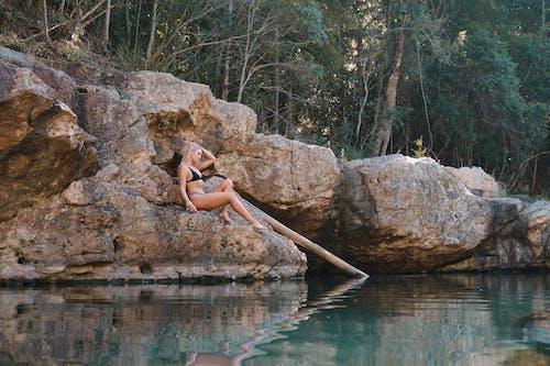 Foto stok gratis air, alam, atraktif, badan