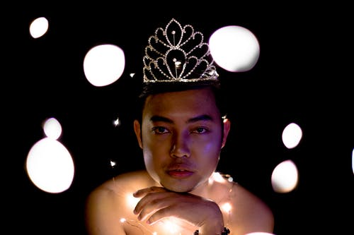 Free stock photo of crown, gay, Gay Pride, lights