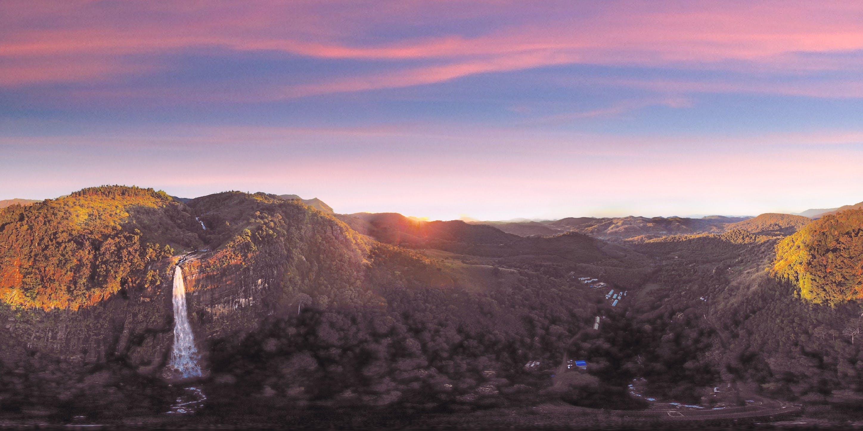 Free stock photo of #falls #sky #morning #diyaluma #mountains #sun