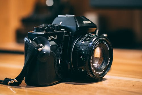 Fotobanka sbezplatnými fotkami na tému fotoaparát, klasický, Nikon, objektív