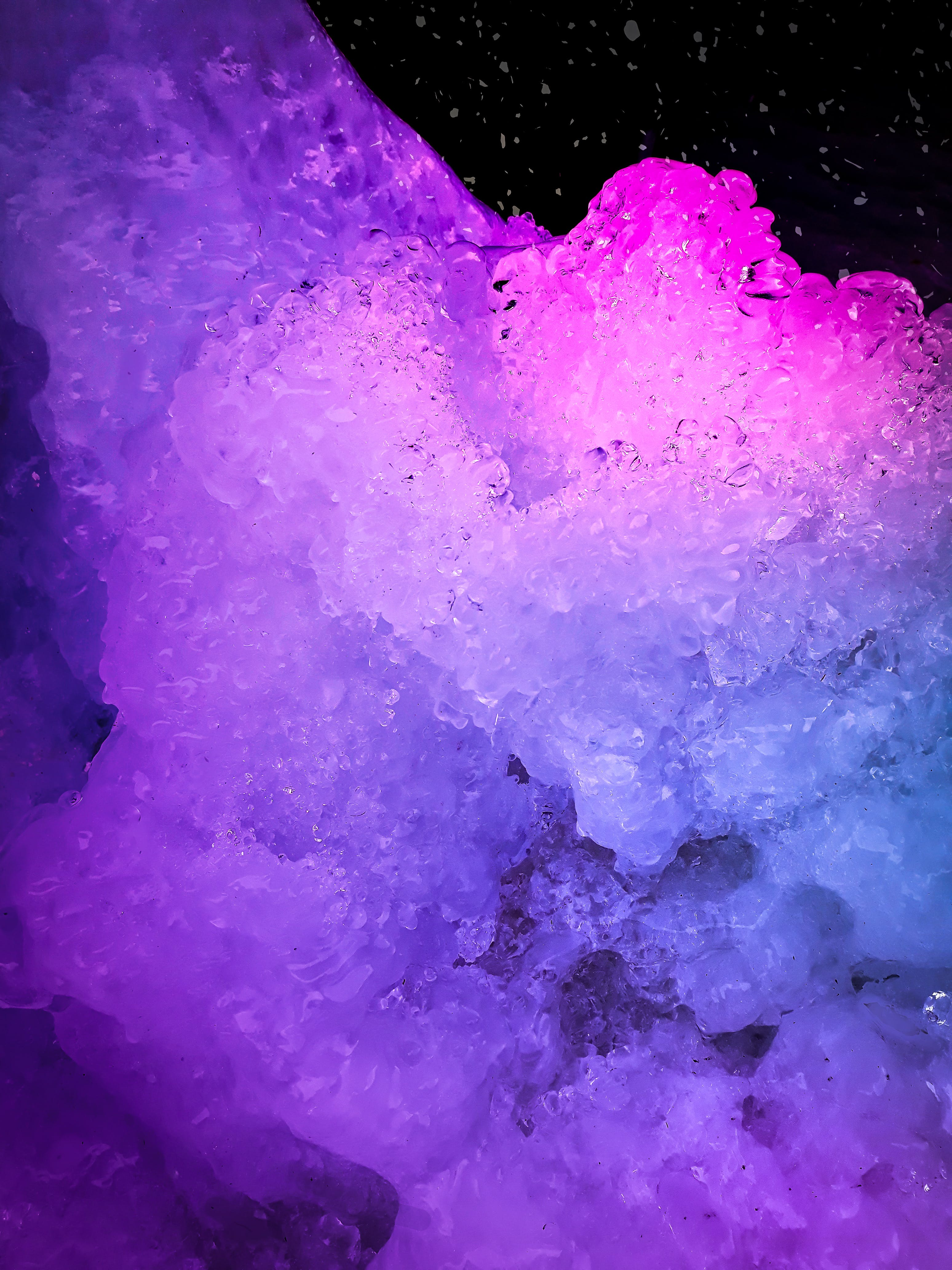 Free stock photo of ice crystal