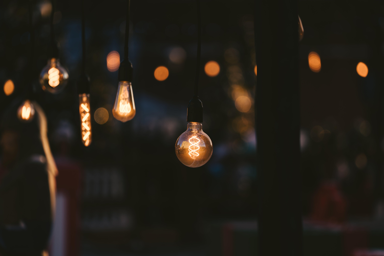 Free stock photo of light bulb, lighting equipment, tungsten
