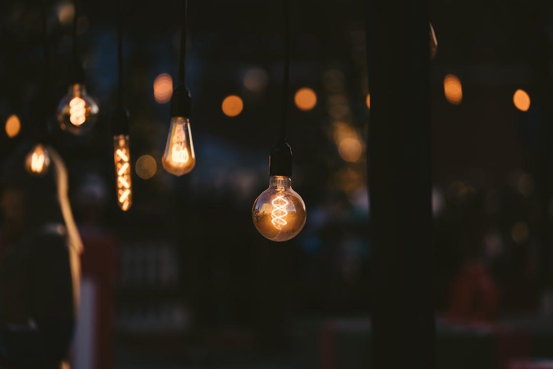 Lighted String Lights Hanging